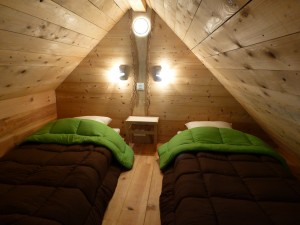 mezzanine Chalet Camping de Martiniere