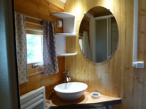 little bathroom chalet