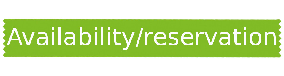 etiquette availability- reservation