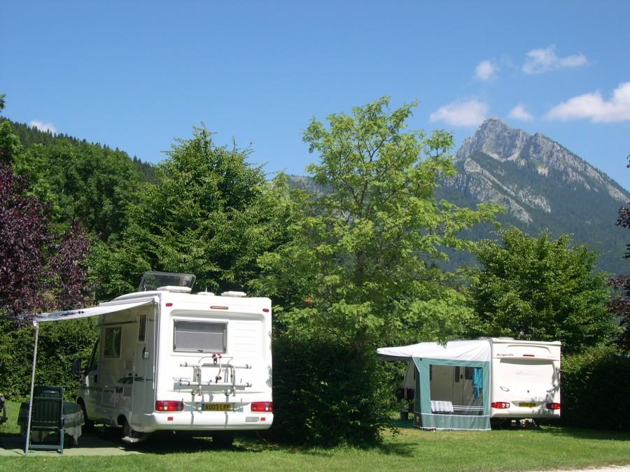 Camping-car et Grand Sôm