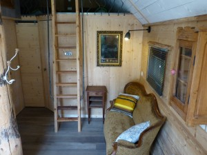 Chalet camping de Martiniere
