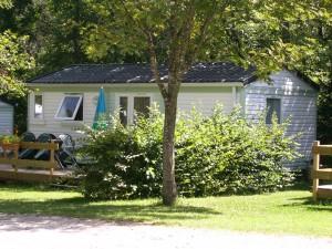 mobil-home camping de Martiniere
